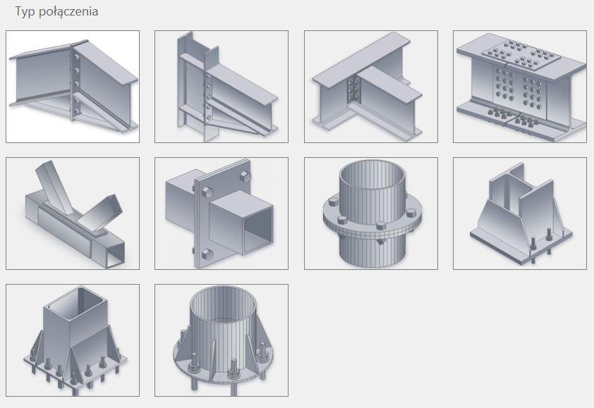 Stalowa połączenia elementów - zbiór