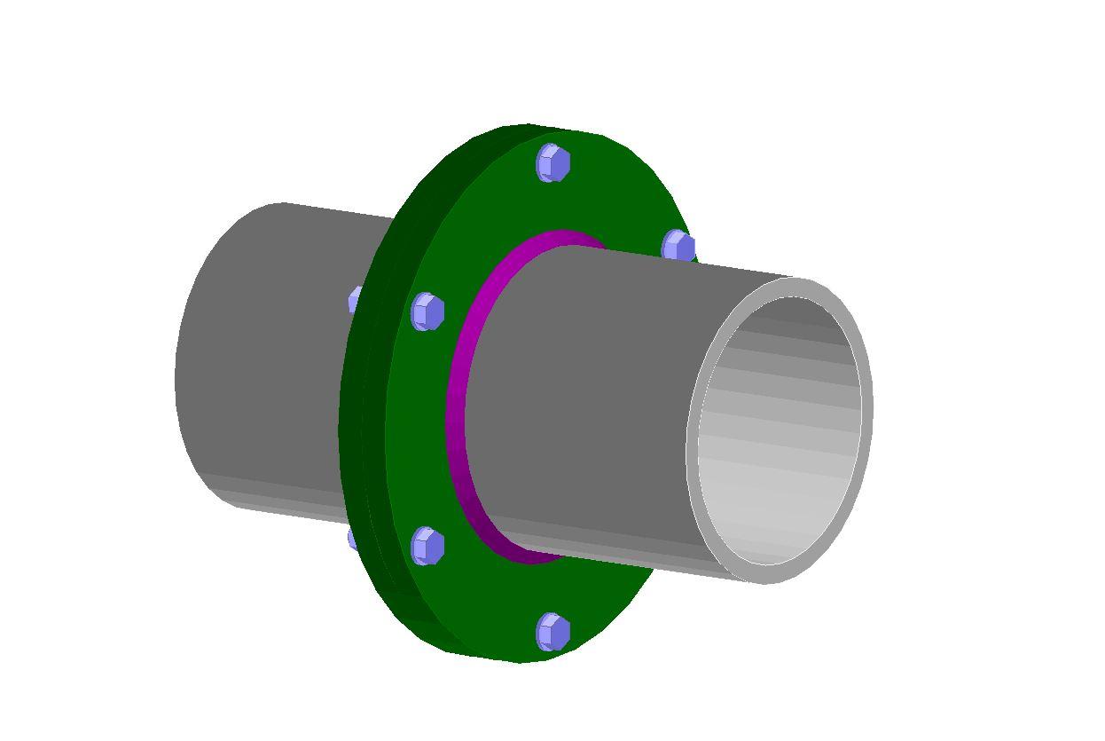 Stalowa połączenia elementów - rura - rura